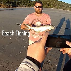 KEPPEL ISLAND BEACH FISHING!! Queenfish, salmon, dart, trevally - YouTube